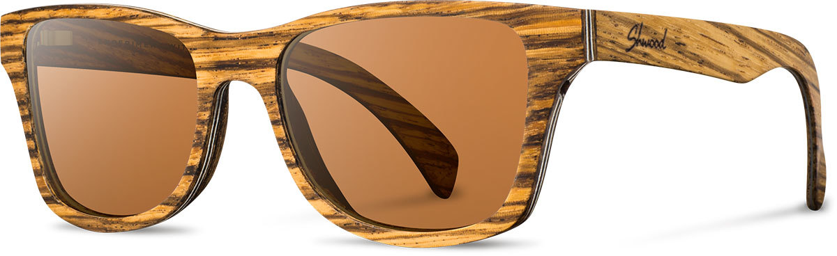 Canby zebrawood brown polarized woczbp a s