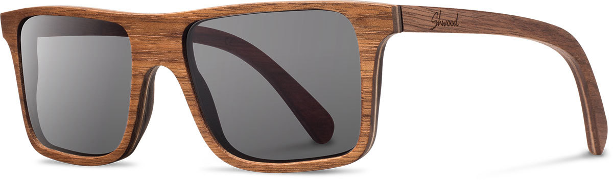 Shwood wood sunglasses original govy walnut grey polarized left s 2200x800