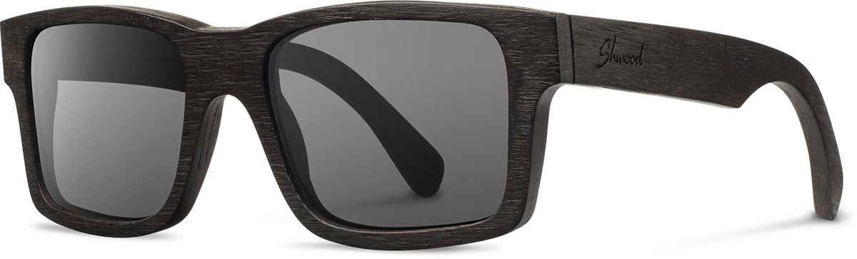 Shwood wood sunglasses original haystack dark walnut grey polarized left s 2200x800