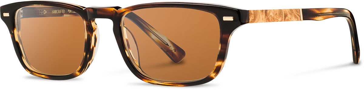 Shwood acetate wood prescription glasses astoria tortoise maple burl brown polarized left s 2200x800