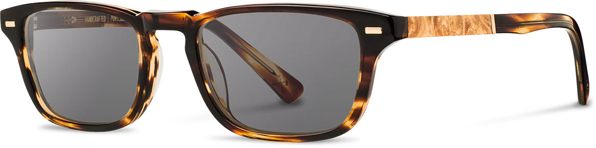 Shwood acetate wood prescription glasses astoria tortoise maple burl grey polarized left s 2200x800