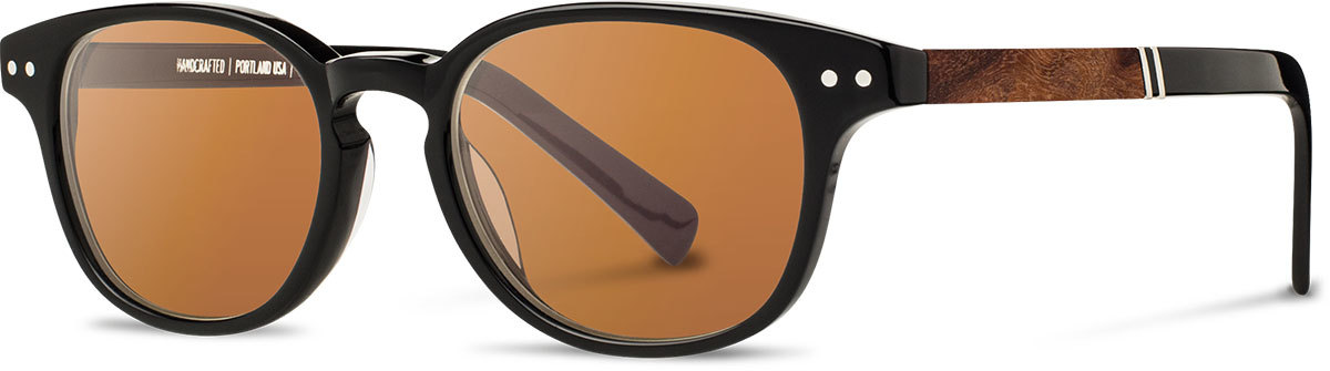 Shwood acetate wood prescription glasses quimby black elm burl brown polarized left s 2200x800
